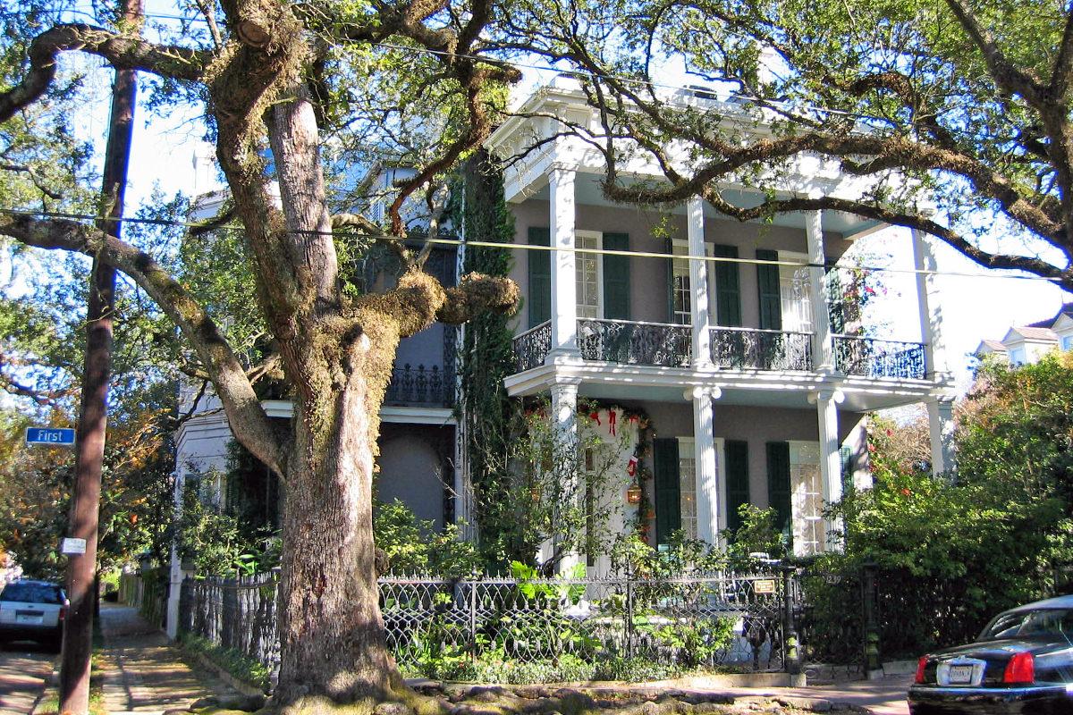 Anne Rice's House.