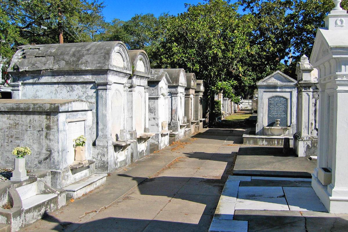 Lafayette Cemetery.