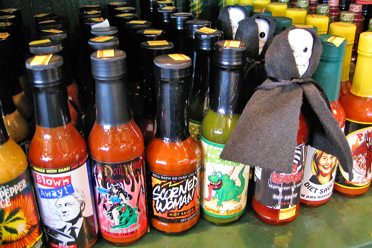 New Orleans hot sauce.