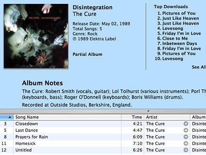Disintegrated Disintegration?