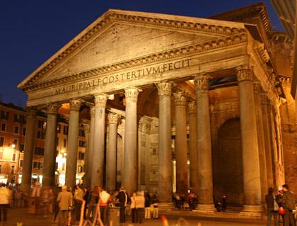 Pantheon at Night
