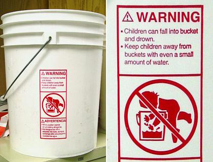 Bucket Warning
