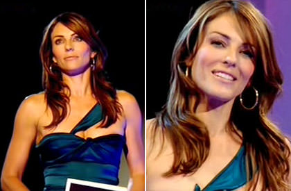Elizabeth Hurley Project Catwalk