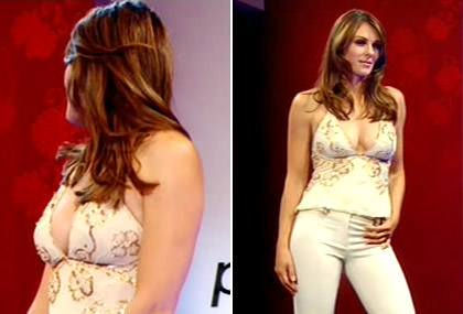 Project Catwalk 9 Elizabeth Hurley