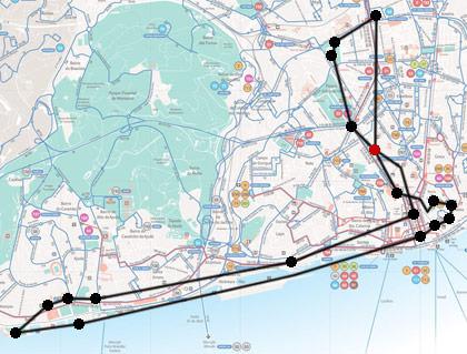 Dave Lisbon Map