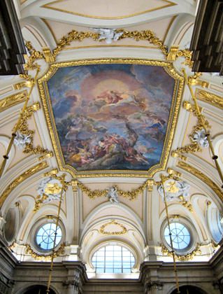 Madrid Palace Interior