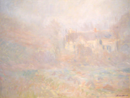 Monet Foggy