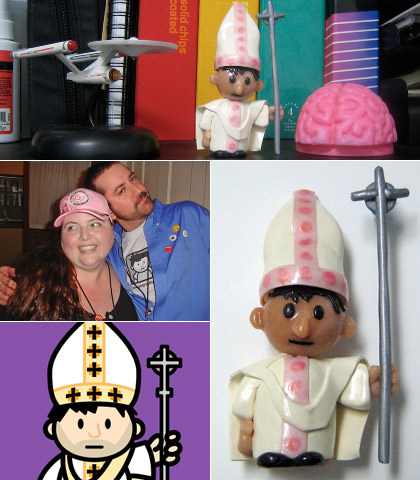 PopeDave Toy