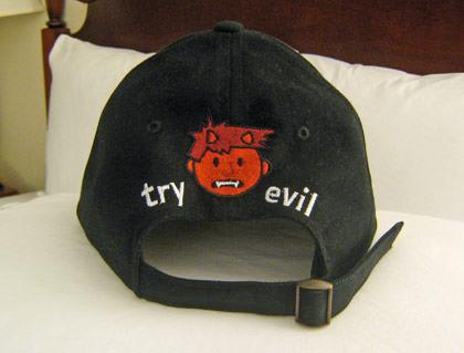 Dave Try Evil Cap!