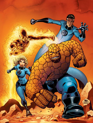 Mike Wieringo Fantastic Four