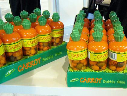 Carrot Bubble Gum!