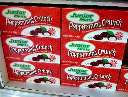 Crunchy Junior Mints