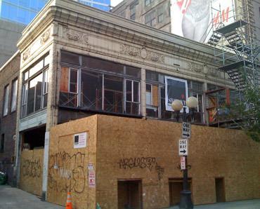 Hard Rock Seattle under construction