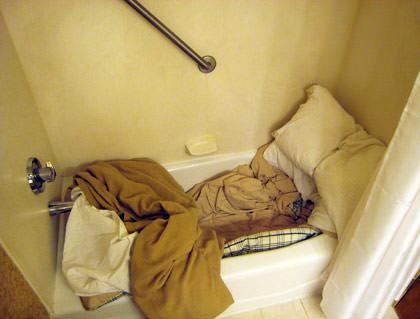 Hotel Bathtub Bed