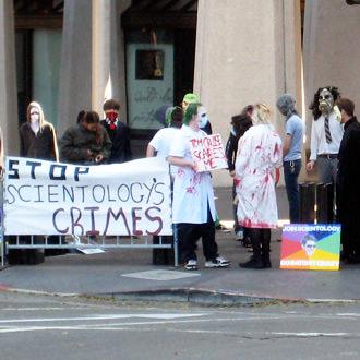 Scientologyprotest