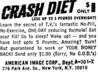 Crash Diet!