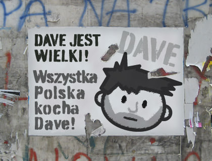 Poland Loves Dave!