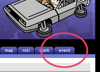 Dave Event Tab