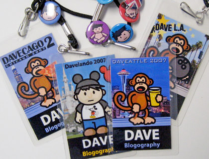 Dave Event Lanyards