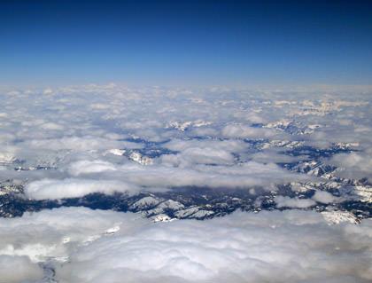 Over Idaho