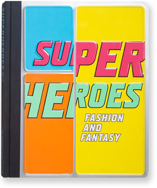 The cover to the Super Fashion Guide exhibit book from The Met.