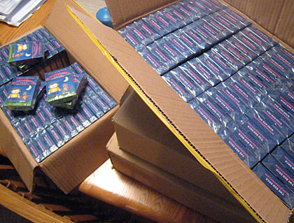 Cases of Blogography Playing Cards!