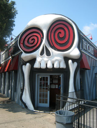 The Vortex Skull and Wild Eyes Entrance