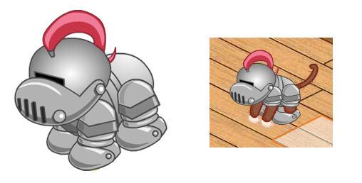 The Webkinz Armor Lie