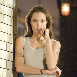 Angelina Jolie from Wanted.