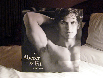 Gay Abercrombie and Fitch bag