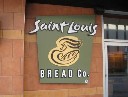 St. Louis Bread Co. sign.