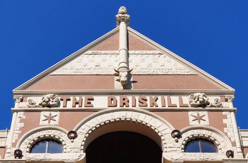 Driskill Hotel Exterior
