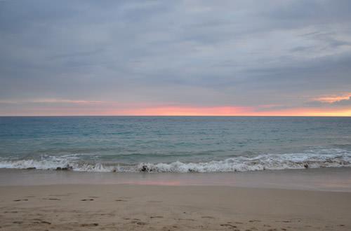 Hapuna Beach Sunset