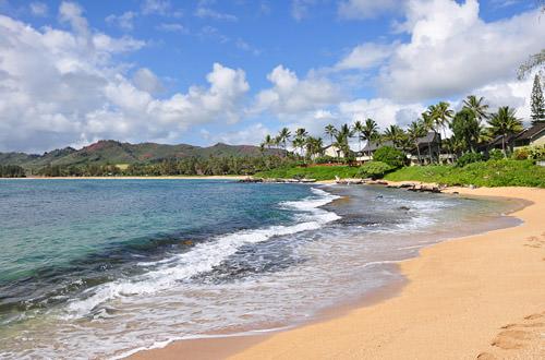 My Condo's Beach on Kauai