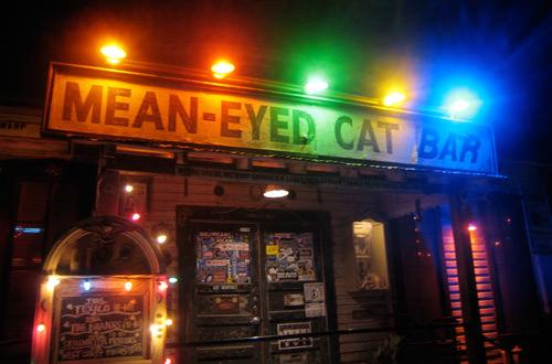 Mean-Eyed Cat Bar Exterior