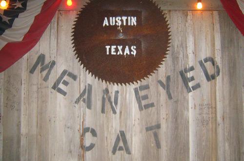 Mean-Eyed Cat Bar Interior