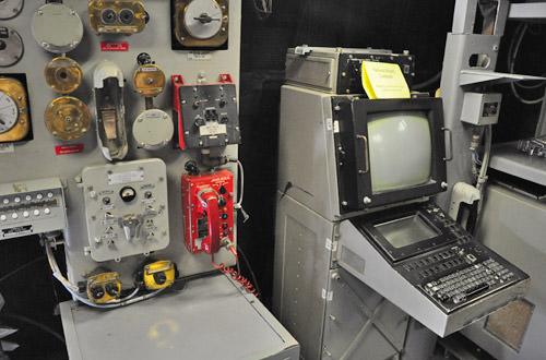 The USS Missouri Control Room