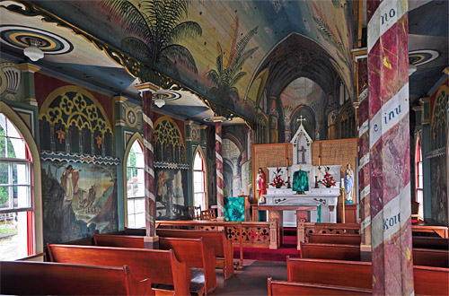 Painted Church Interior