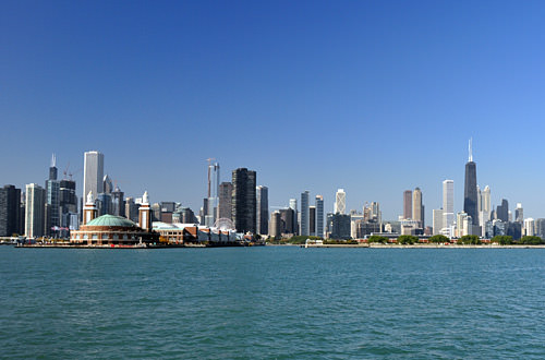Chicago from Lake Michigan