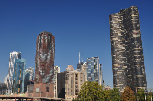 Chicago from The River.