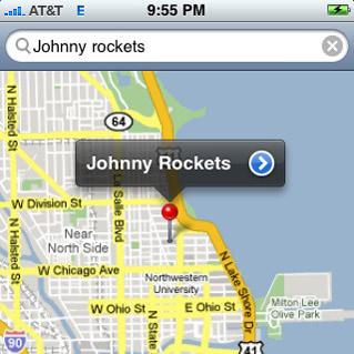 Google Maps iPhone Image