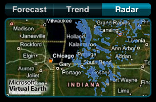 MyWeather Animated Radar Map
