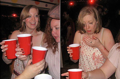 Oh Sarah Joy tries tequila for the first time.