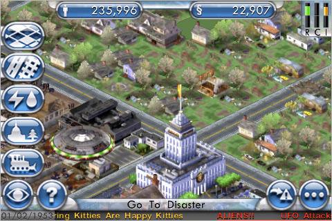 Sim City Screen Capture