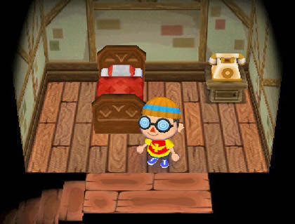 Animal Crossing Dave Bedroom