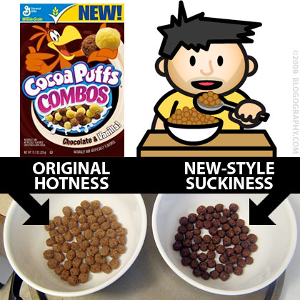 Dave Cocoa Puffs