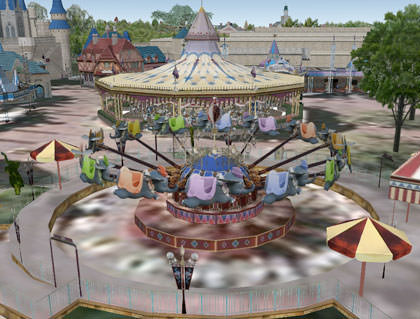 Google Earth Dumbo Ride