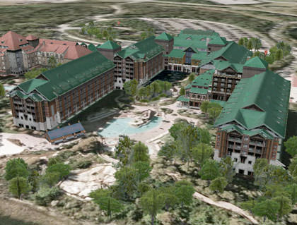 Google Earth Wilderness Lodge