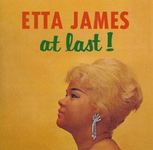 Etta James Album Cover for At Last