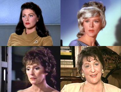 Majel Barrett Star Trek Roles